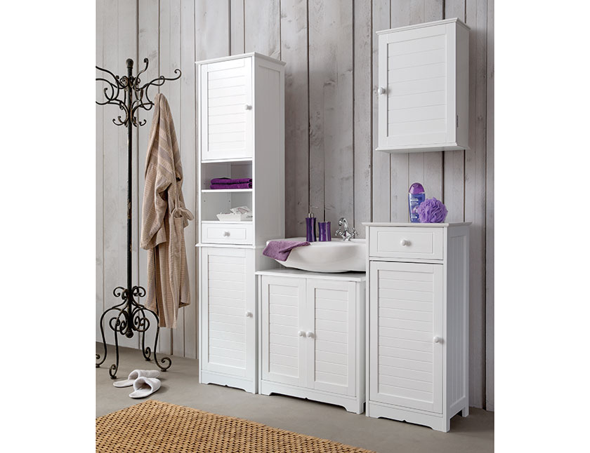 armoire salle de bains cottage haute practohome. Black Bedroom Furniture Sets. Home Design Ideas